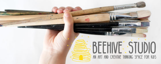 Mini Makers (age 2+ to 5) – Tuesday, SPRING Term at Beehive Studio